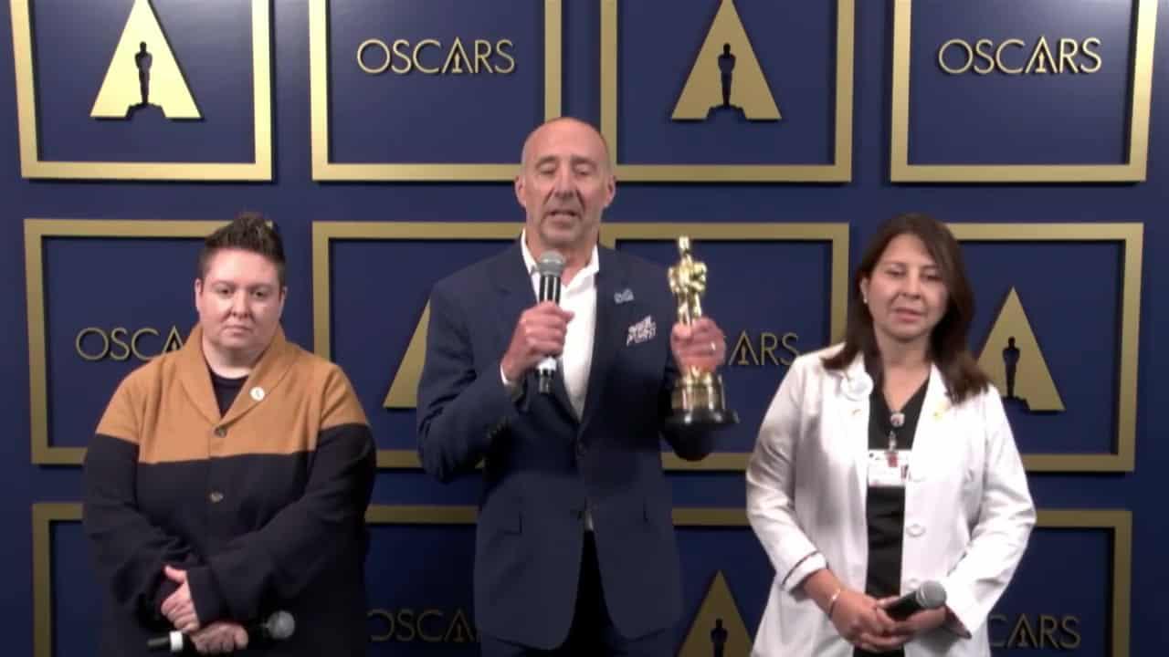 MPTF Backstage at the Oscars